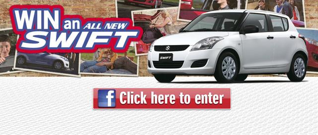Win a Swift competition | Suzuki Australia