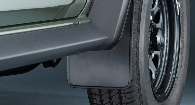 Mud Flap Set - Front (Black)