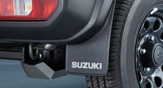 Mud Flap Set - Rear (Black)