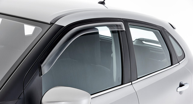 Slimline Weatershields, Front