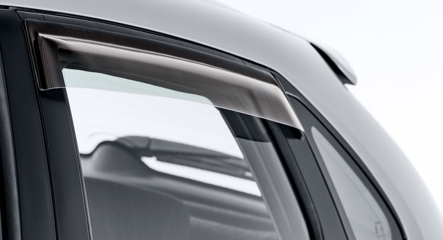 Slimline Weathershields, Rear