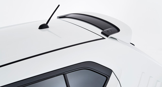 Roof Edge Spoiler - White & Black