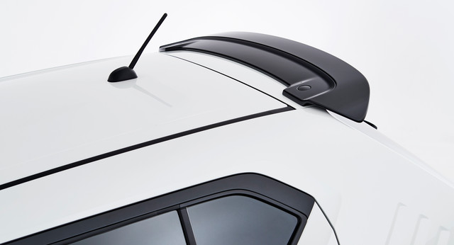 Roof Edge Spoiler - Black