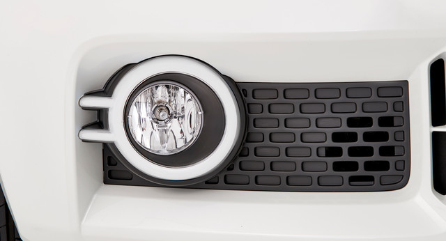 Fog Light Bezels - White