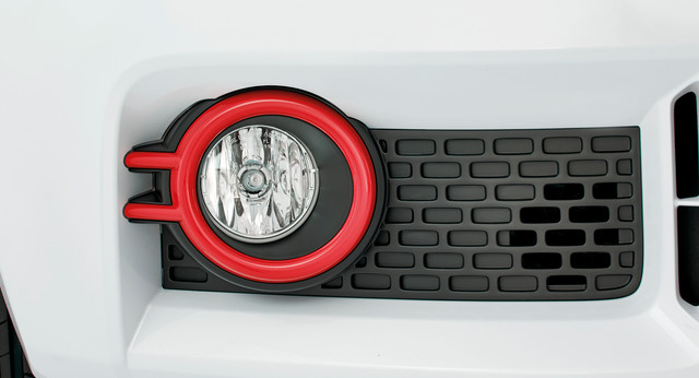 Fog Light Bezels - Red