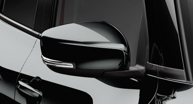 Side Mirrors Set Black - Swift GLX