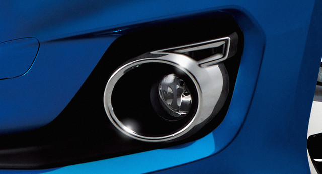 Front Fog Lamp Garnish - Chrome