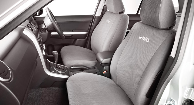 Seat Covers, Front - Fabric