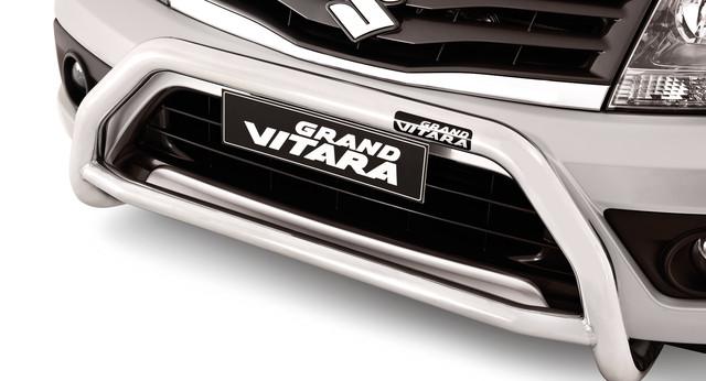 New Genuine Suzuki Grand Vitara Smoked Bonnet Protector