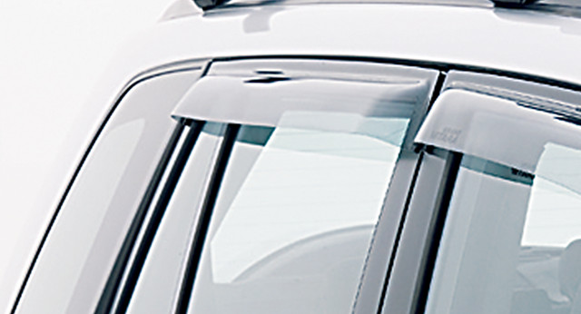 Slimline Weathershields - Rear