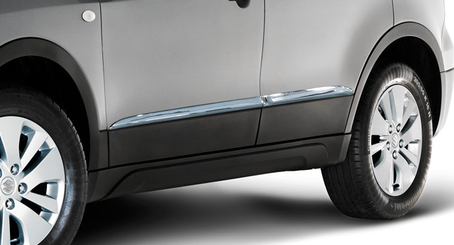 Side Body Moulding - Chrome