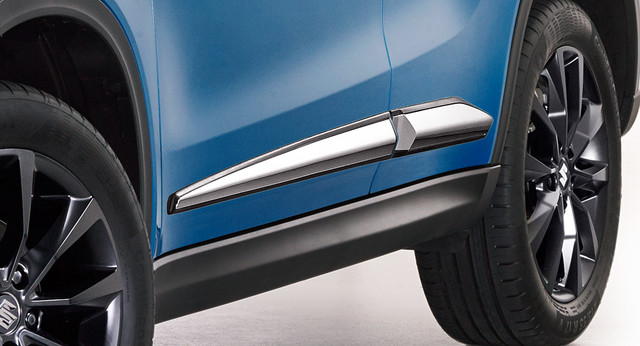 Side Body Moulding, Chrome