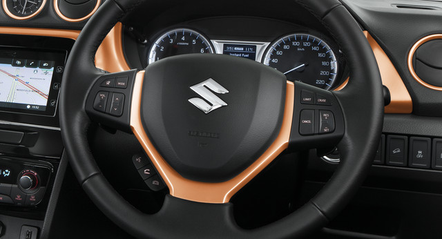 Steering Wheel Garnish - Orange