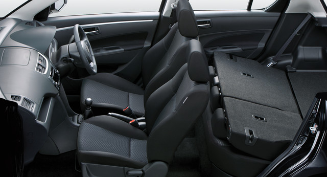 Suzuki Swift Interior Profile