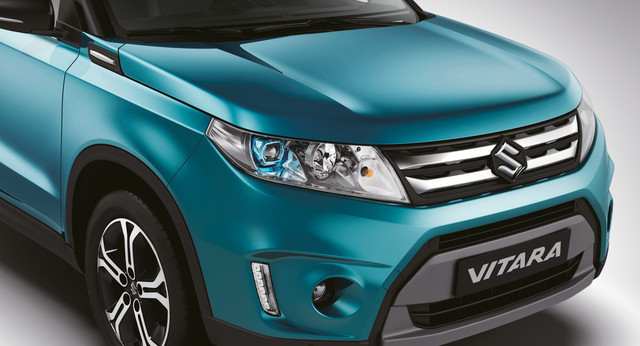 Suzuki Vitara Front 3/4 Close Up