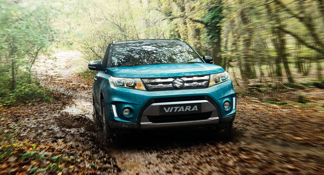 Suzuki Vitara in the Forest