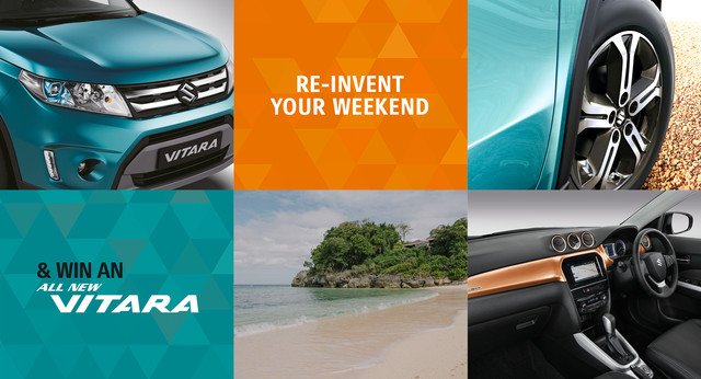 Win an All-New Vitara